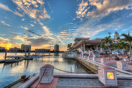 Tampa-Convention-Center-Sunset-Part-2