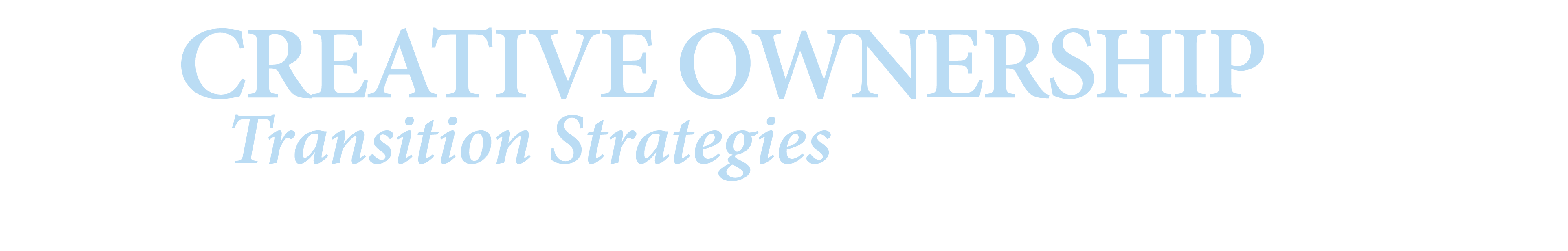 Creative Ownership Transition Strategies